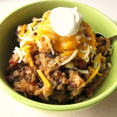 Slow Cooker Spicy Enchilada Bowl