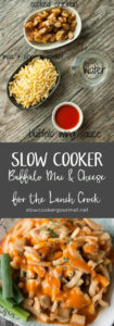 Slow Cooker Buffalo Mac and Cheese for the Lunch Crock