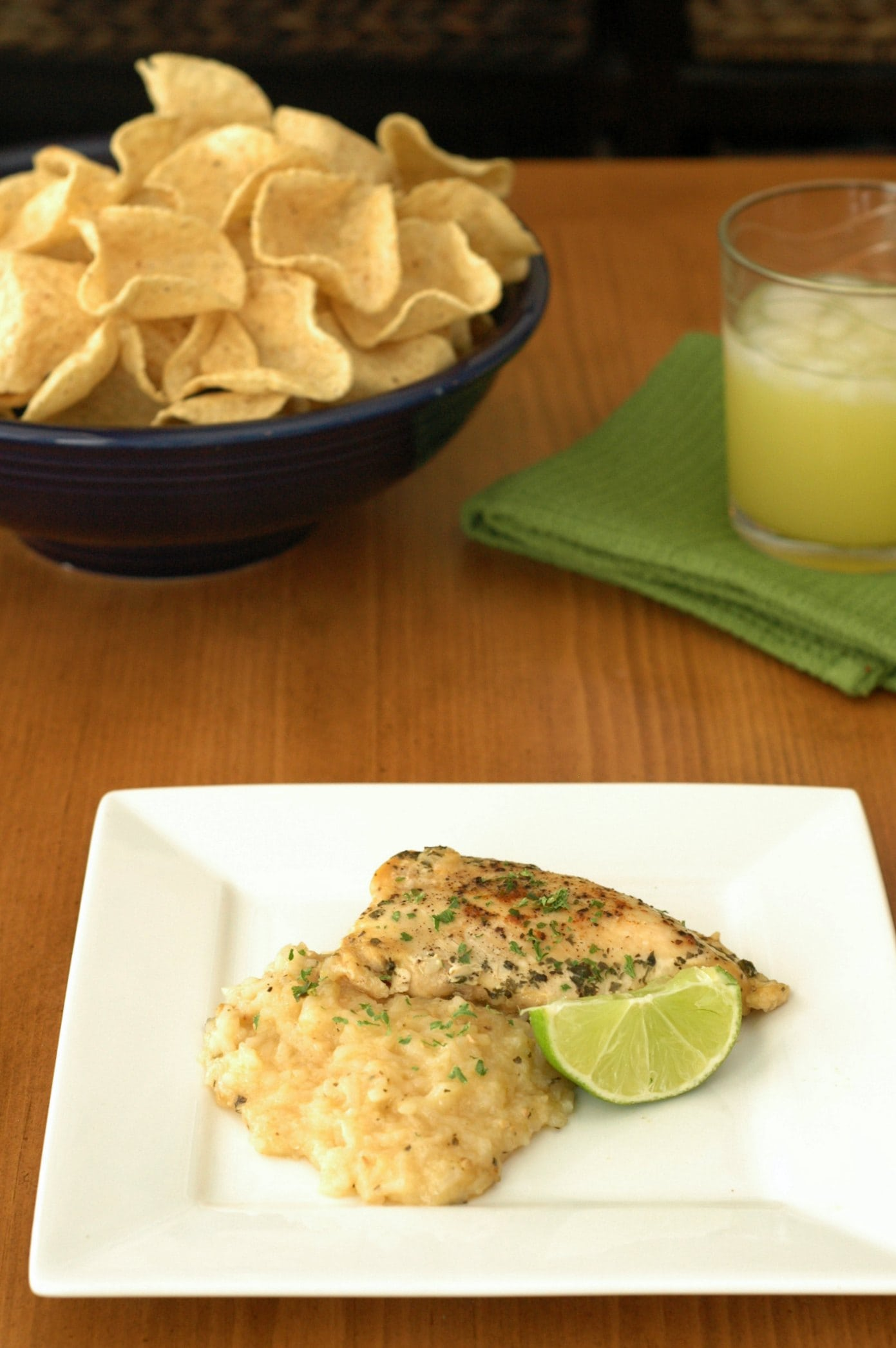 Slow Cooker Margarita Chicken