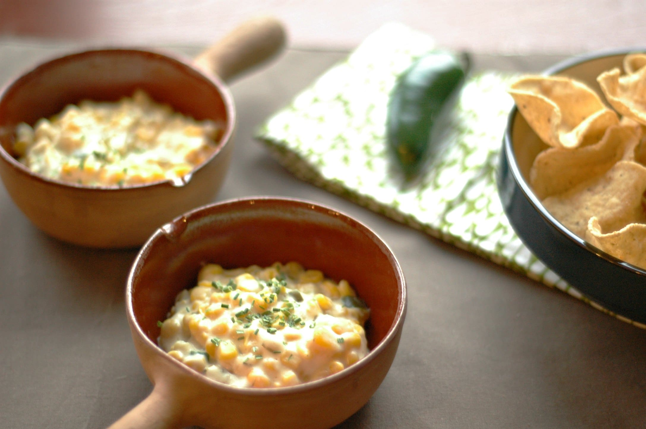 Slow Cooker Sweet Corn and Jalapeno Dip