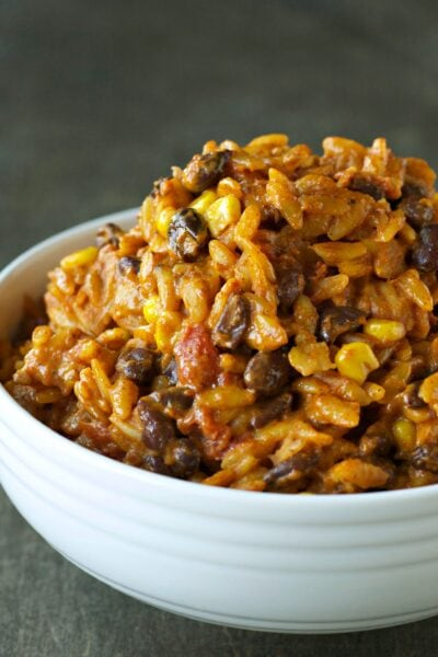Slow Cooker Enchilada Pasta