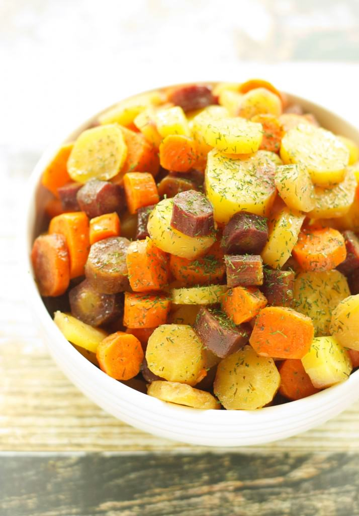 Slow Cooker Carrots with Honey Butter Sauce