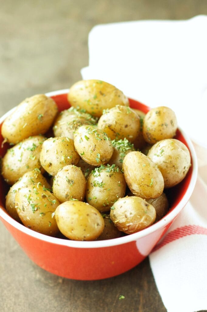 Slow Cooker Herbed Baby Potatoes
