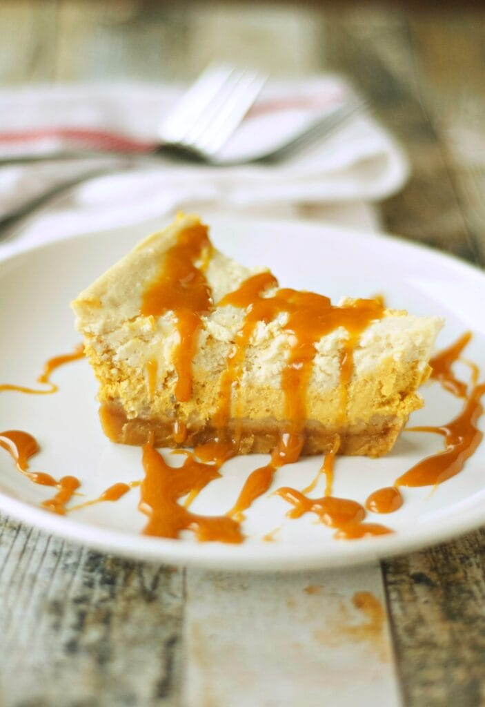 Slow Cooker Browned Butter Pumpkin Cheesecake