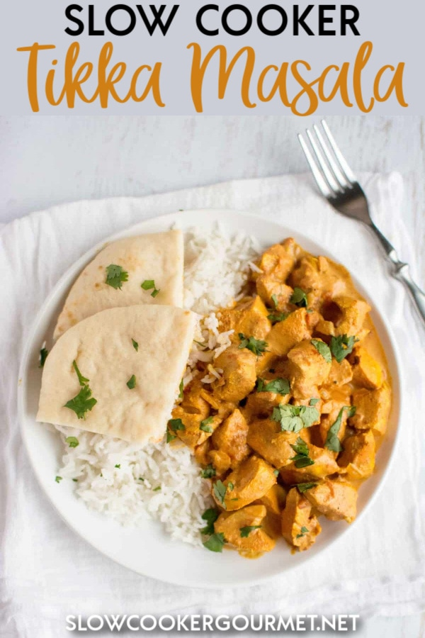 Now one of the most delicious meals from your favorite Indian restaurant can be made in the comfort of your own home, and with the ease of a slow cooker.  This Slow Cooker Tikka Masala recipe is one of the best! #slowcooker #tikkamasala #chicken