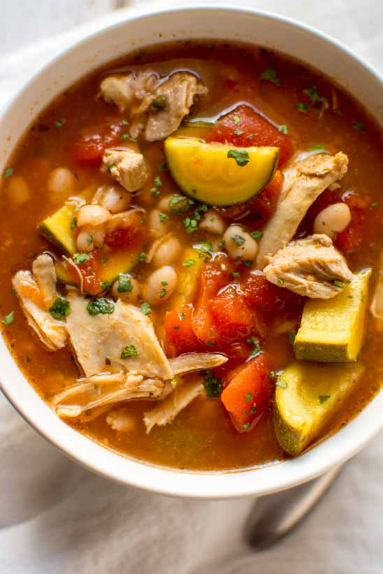 Slow Cooker Chicken Tomato Soup