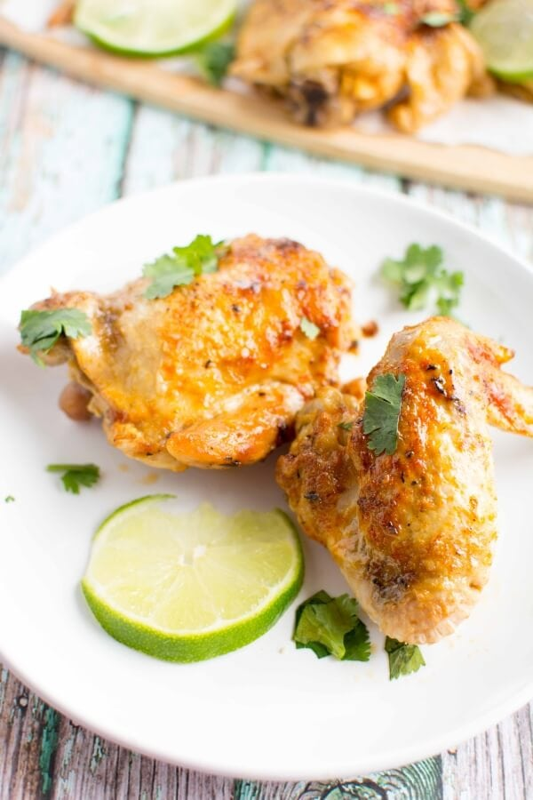 Slow Cooker Spicy Lime Chicken