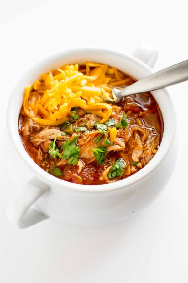 Slow Cooker Pulled Pork Chili