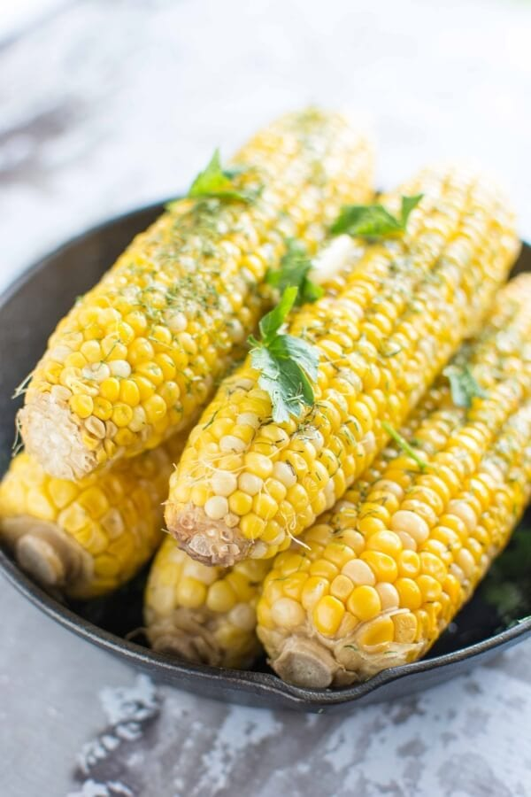 Slow Cooker Buttery Dill Corn
