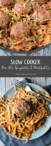 Slow Cooker One Pot Spaghetti