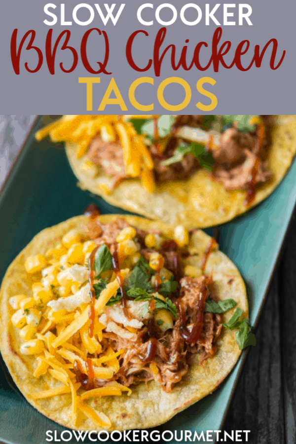 Slow Cooker Bbq Chicken Tacos Slow Cooker Gourmet