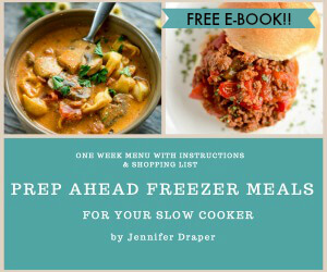 Prep Ahead Freezer Meals AD