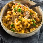 Slow Cooker Beer Mac & Cheese