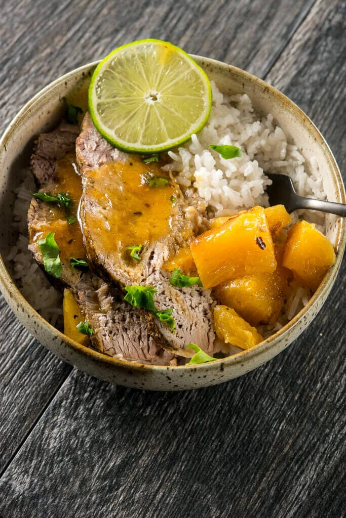 Slow Cooker Tequila Lime Pork