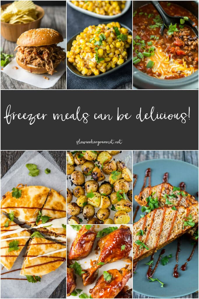 Slow Cooker Freezer Meals