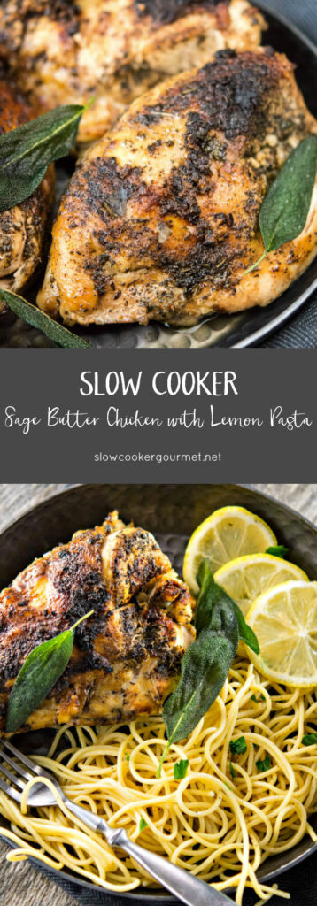 Slow Cooker Sage Butter Chicken