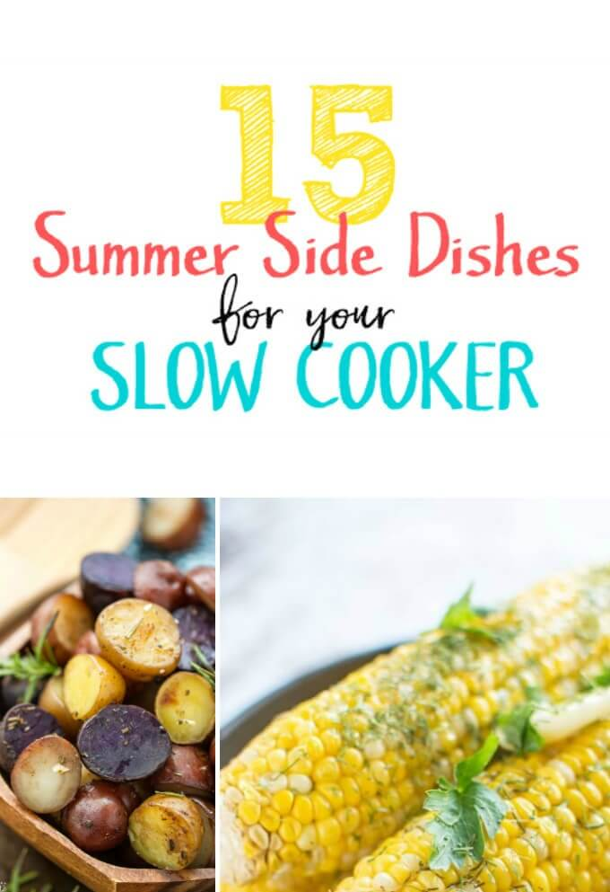 Summer is filled with fun gatherings with family and friends. Sometimes figuring out what to take can be a challenge... but why not use your slow cooker at your next pot luck? From baked beans to corn on the cob, I think you'll love these summer side dish recipes you can make in your slow cooker!
