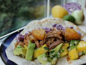 Slow Cooker Pineapple Pulled Pork
