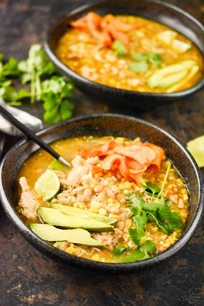 Slow Cooker Green Chicken Chili Slow Cooker Gourmet