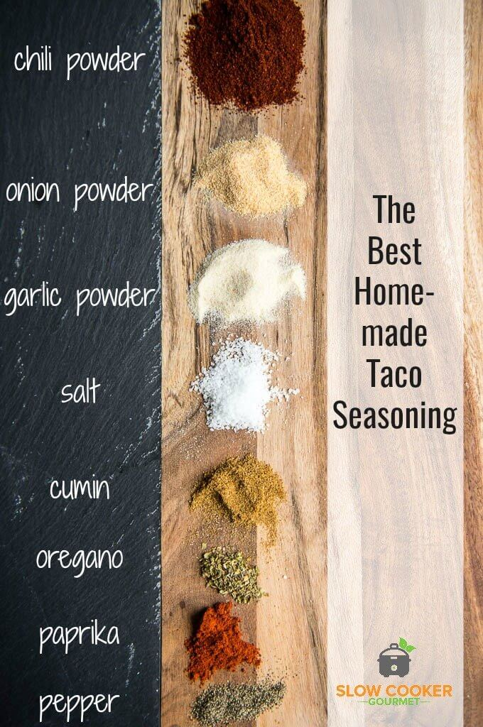 The Best Homemade Taco Seasoning Slow Cooker Gourmet