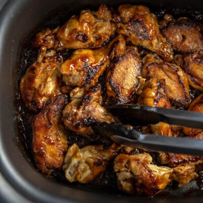 browning chicken wings in multi-cooker
