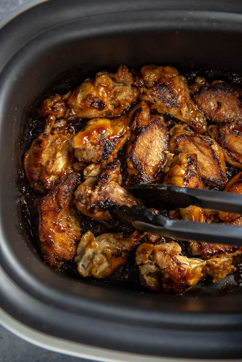 Slow Cooker Chicken Wings With Honey Lime Bbq Slow Cooker Gourmet