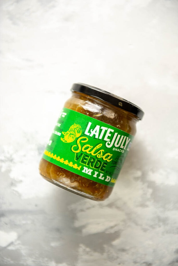 jar of salsa verde