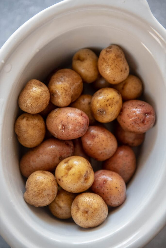 whole baby potatoes in slow cooker