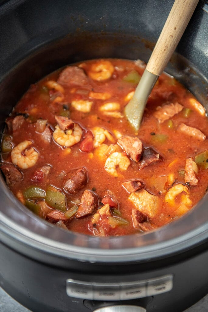 jambalaya in a slow cooker