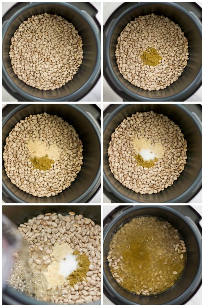 process for making slow cooker pinto beans