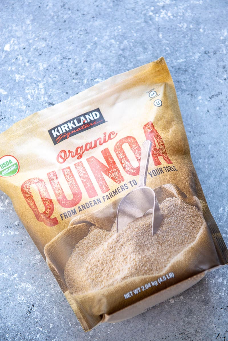 bag of quinoa